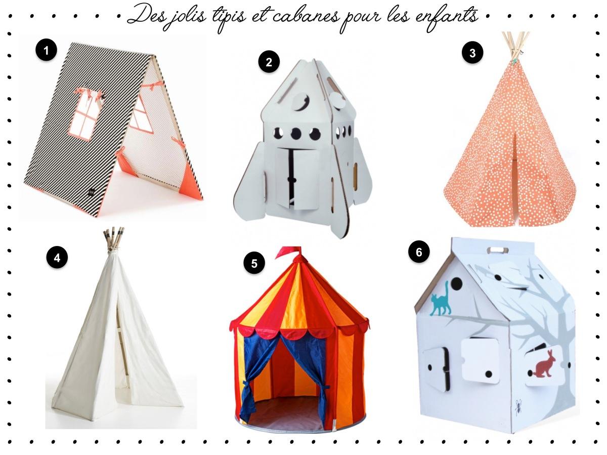 des jolis tipis et cabanes pour les enfants un joli monde. Black Bedroom Furniture Sets. Home Design Ideas