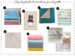 Des jolis plaids et couvertures... pour les petits