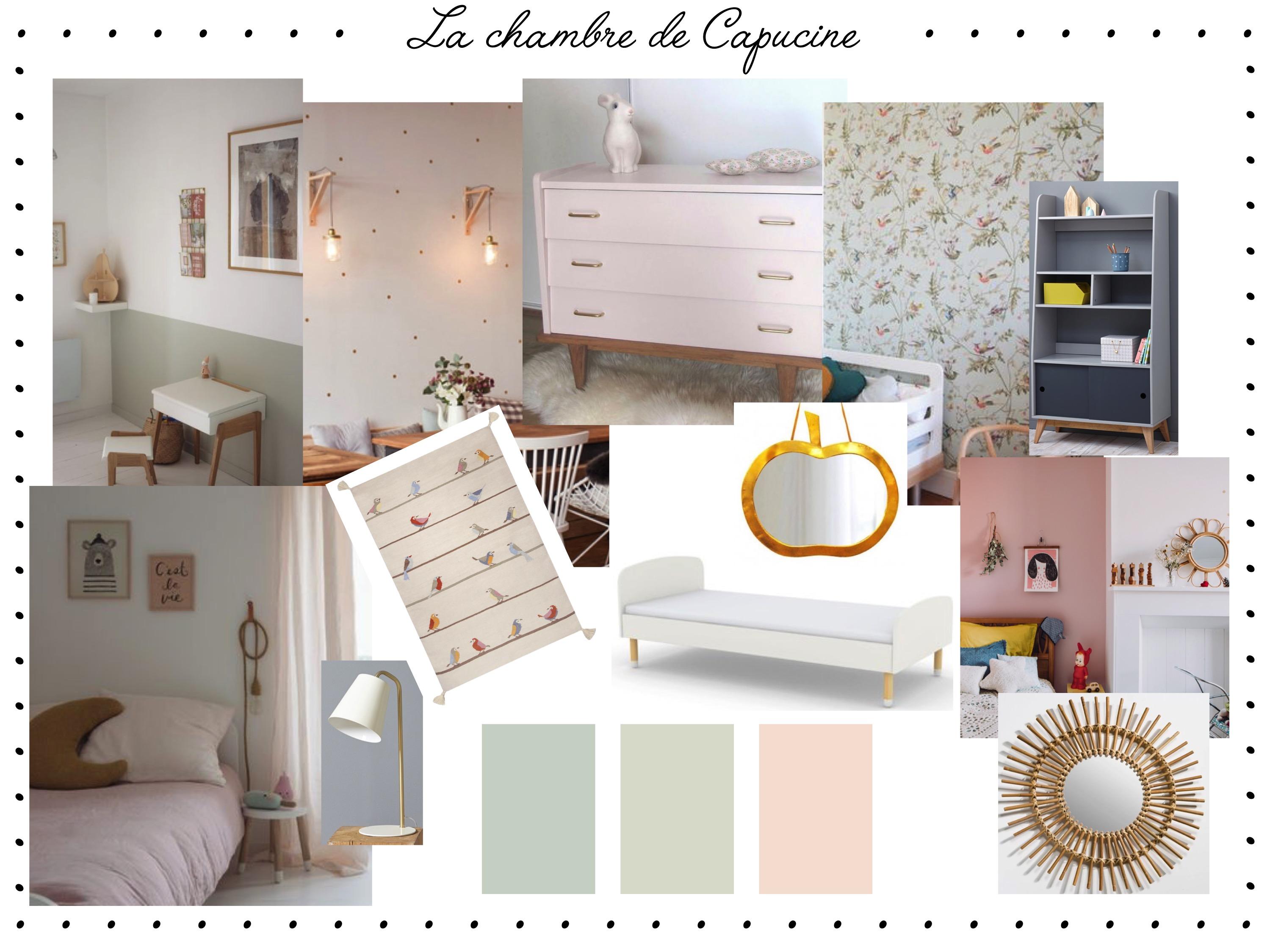 Des inspirations pour la chambre de capucine un joli monde - Changer sa chambre ...
